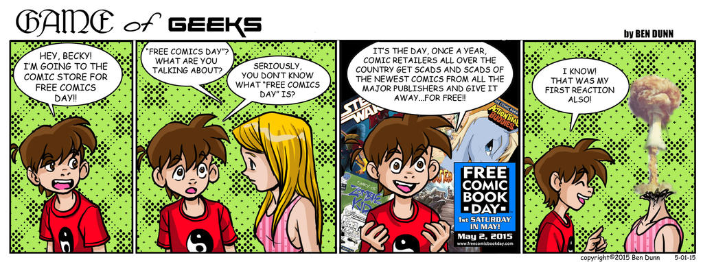 GAME of Geeks 05-01-15 by Dogsupreme