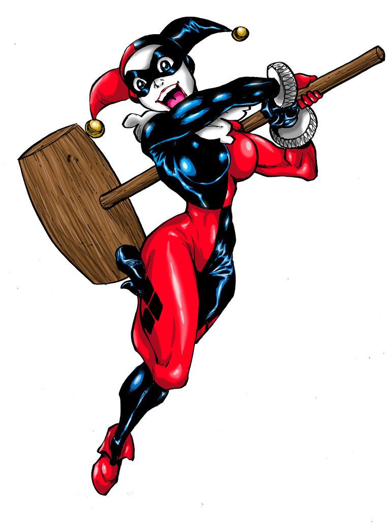 Classic Harley Quinn print by Dogsupreme