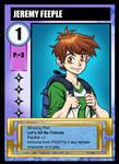 NINJA HIGH SCHOOL Card game art: Jeremy