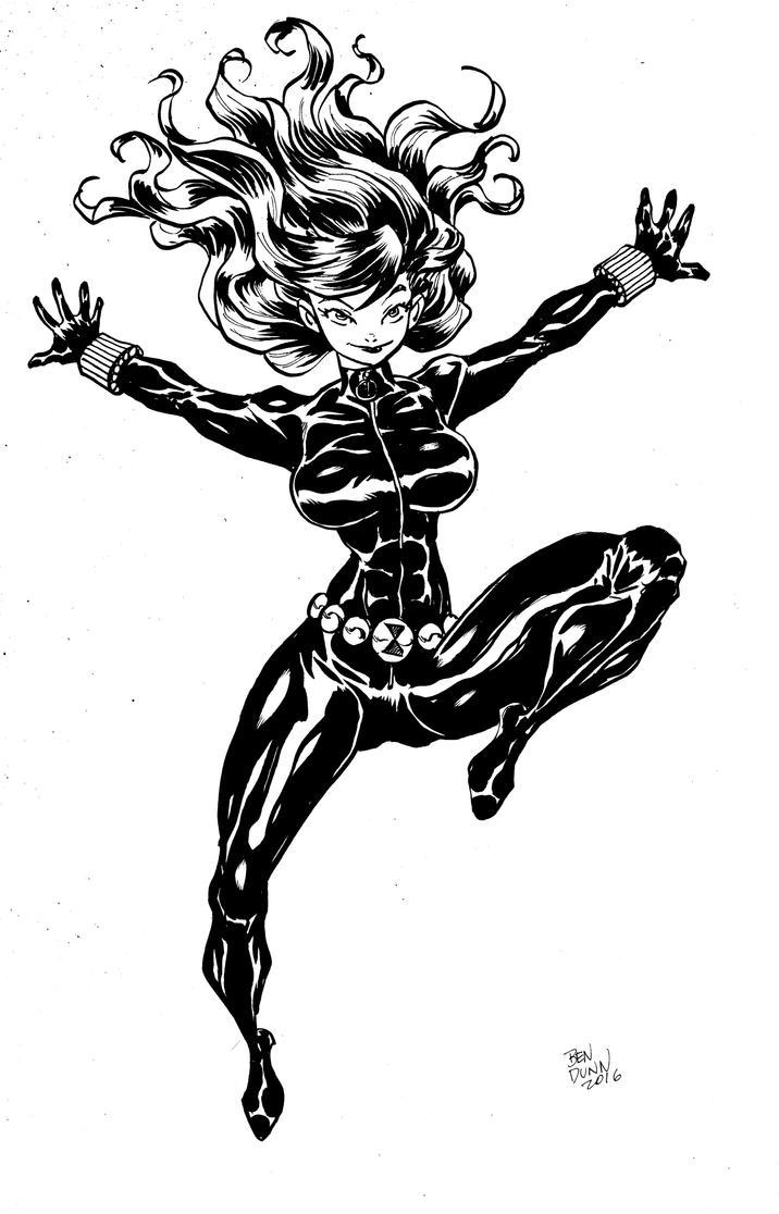 Black Widow commission by Dogsupreme