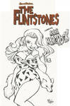Flintstones Ann Margrock commission