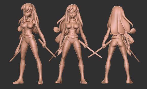Ichi 3d file for PVC figure
