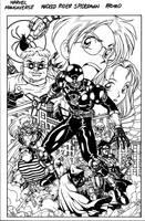 mangaverse spiderman by Dogsupreme