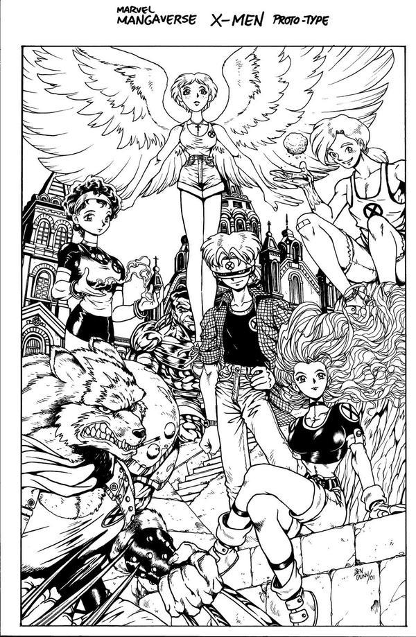mangaverse X-MEN by Dogsupreme