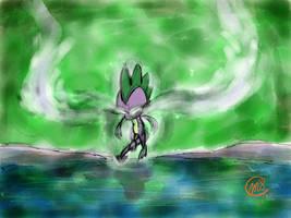 Spike: Power up by Loreto-Arts