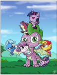Spike And The Magical Horn Babies