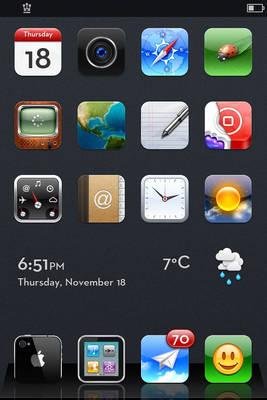 default iphone 4