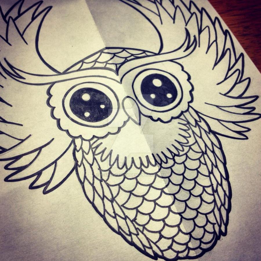 Owl by x-ShinJitsu-x