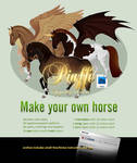 Make your own horse - Piaffe set by Dae-K