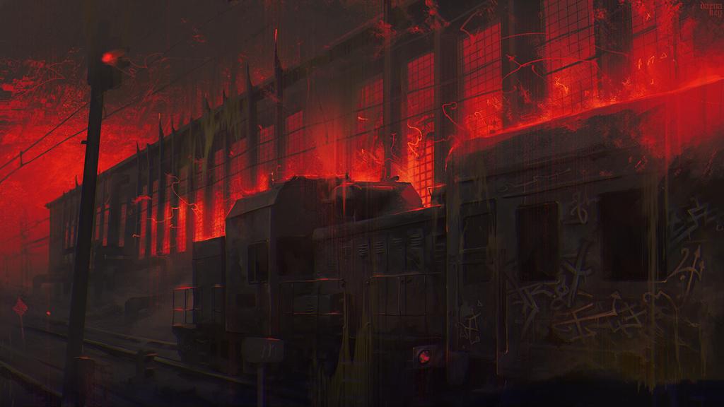 Railway Inferno VII by Dae-K
