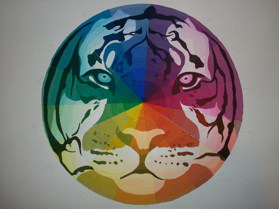 Tiger Color Wheel 9 FINISHED By ForeverTheLastRaven