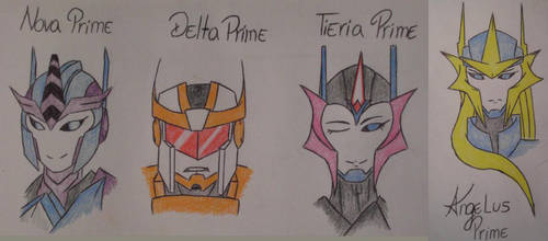 Four Primes by maurawilson