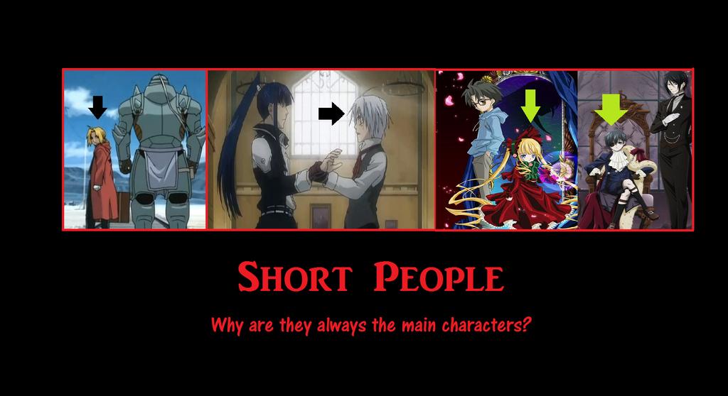 Short People Anime Motivational By Animeavarice On Deviantart