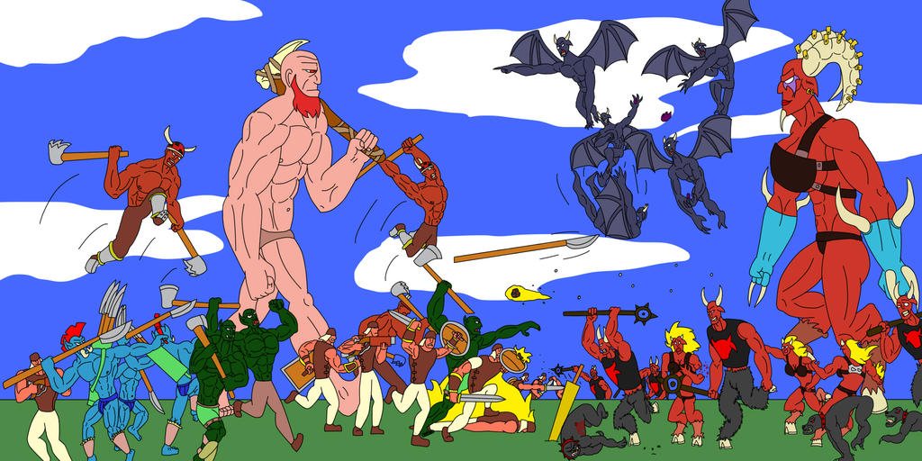 Epic War II by unukthewarrior