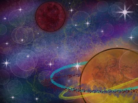 Moar Space doodle