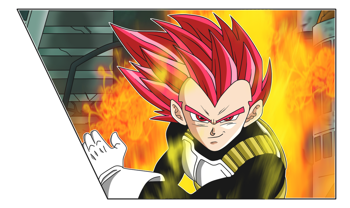 Super Saiyan God Vegeta by chanmio67