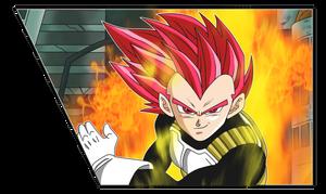 Super Saiyan God Vegeta by chanmio67