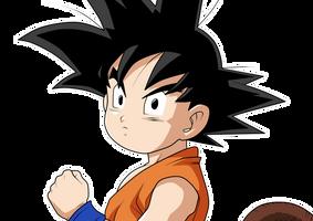 Kid Goku by chanmio67