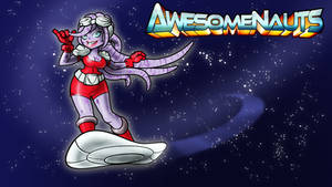 AWESOMENAUTS Coco Nebulon Wallpaper