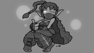 Stealthy Elf by AtomicTiki
