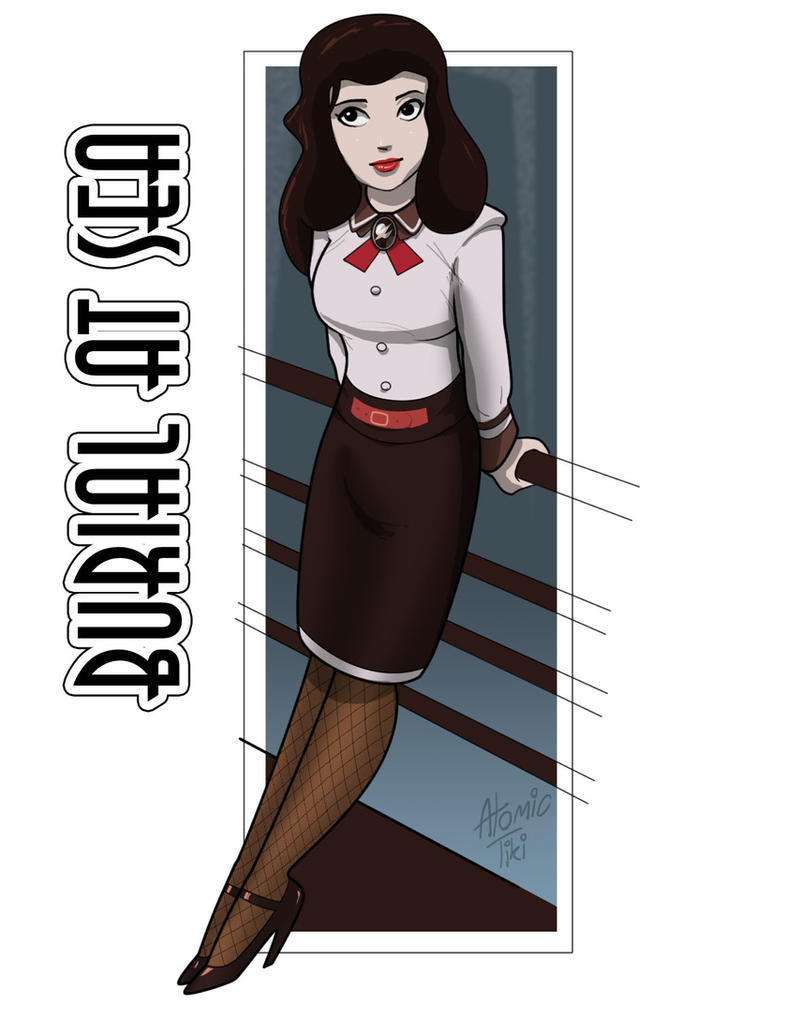 Elizabeth Burial At Sea by AtomicTiki