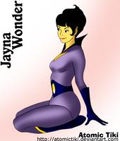 Jayna Wonder Twin by AtomicTiki