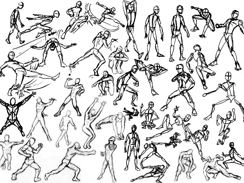 Full Body Movements By Eddygordo37 On Deviantart