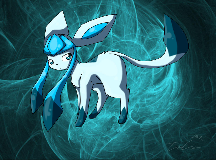 Glaceon by AnarchicalMalkin