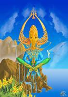 The Guru by Rick-Lilley