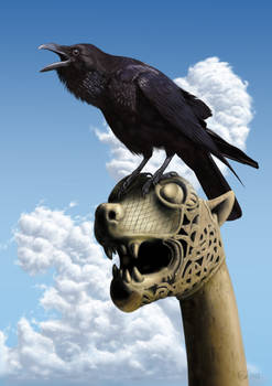 WHEN I WAS A VIKING, MY FRIEND HE WAS THE RAVEN