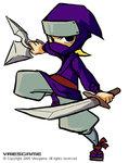 ninja by vagebone