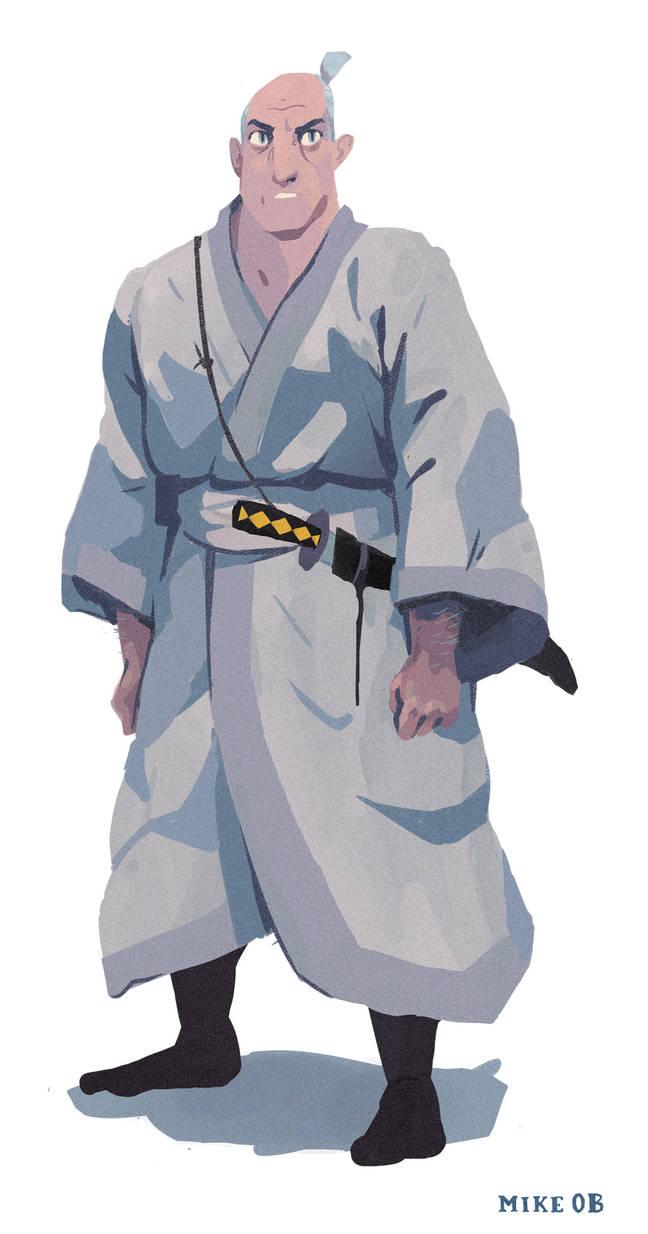 Old Samurai Jack