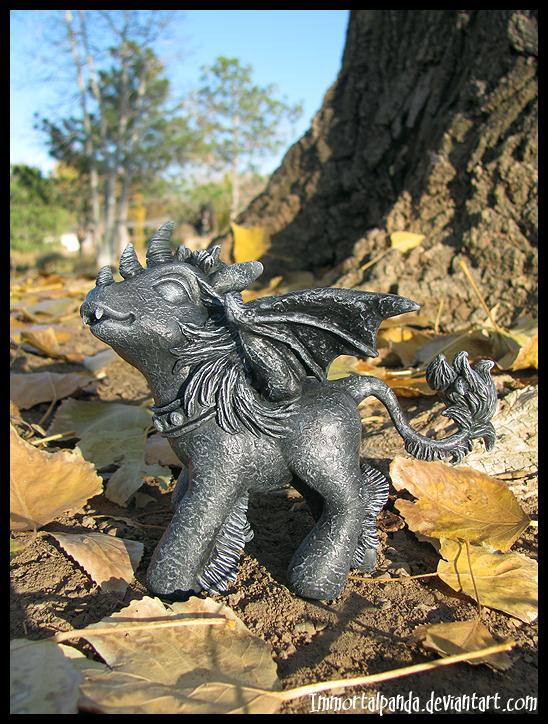 Battycorn Gargoyle by ImmortalPanda