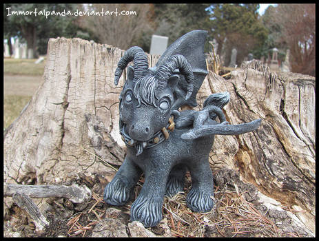 Boy Gargoyle for Wart
