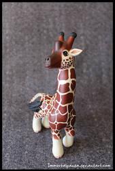 Giraffe for No Division by ImmortalPanda