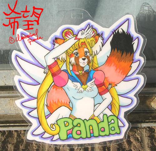 Eternal Sailor Panda badge by ImmortalPanda