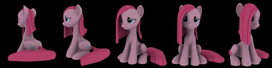 Sad sitting Pinkie wip 02 by Hashbro