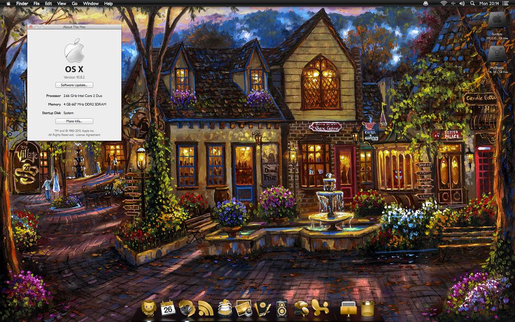 Autumn 2012 desktop by windkiss72