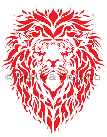 red lion by marxus23 on deviantart