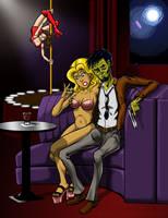 Zombie Hitman - Color by MechaGhidorah