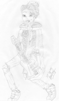 Ever After High OC Son of Wizard/Wolf
