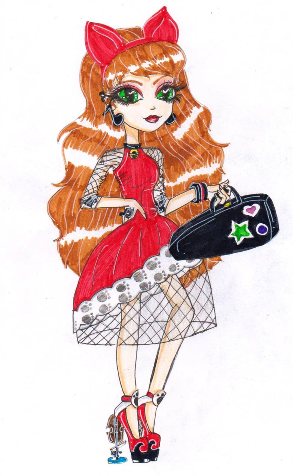 Ever After High Poppy OHair coloring page  Free