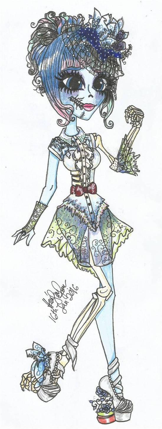 Monster High Oc: Esmeralda Corspe