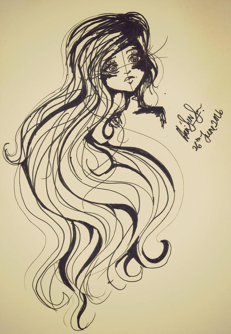 Just a random girl by Haneeys1nsyeerah
