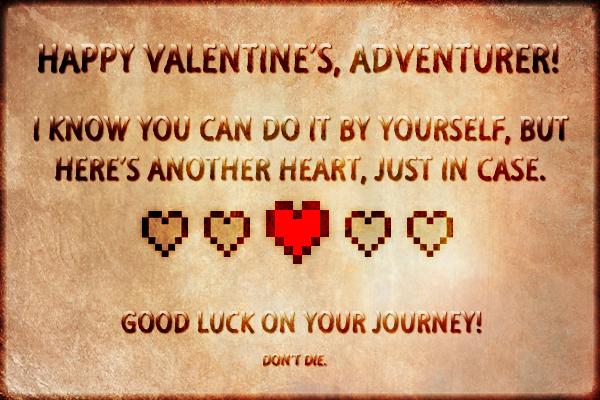 Nerdy Valentineu0027s Day 2015 Card By Yoroiookami ...