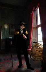 steampunk gentleman by taepanda