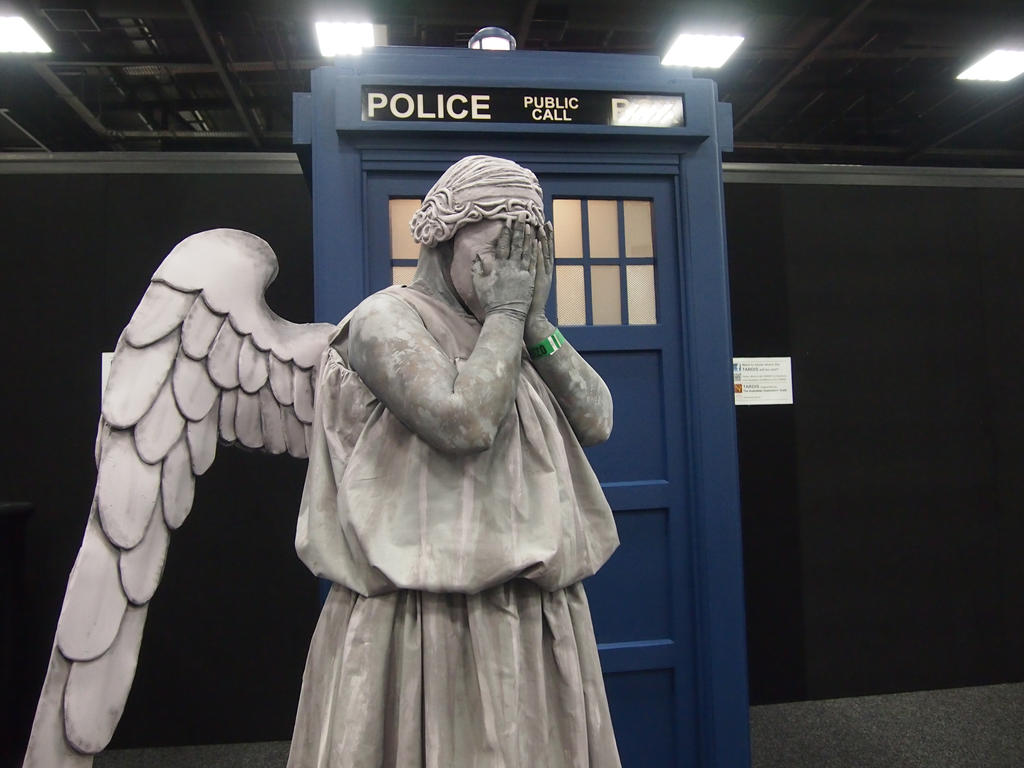 weeping angel security camera the