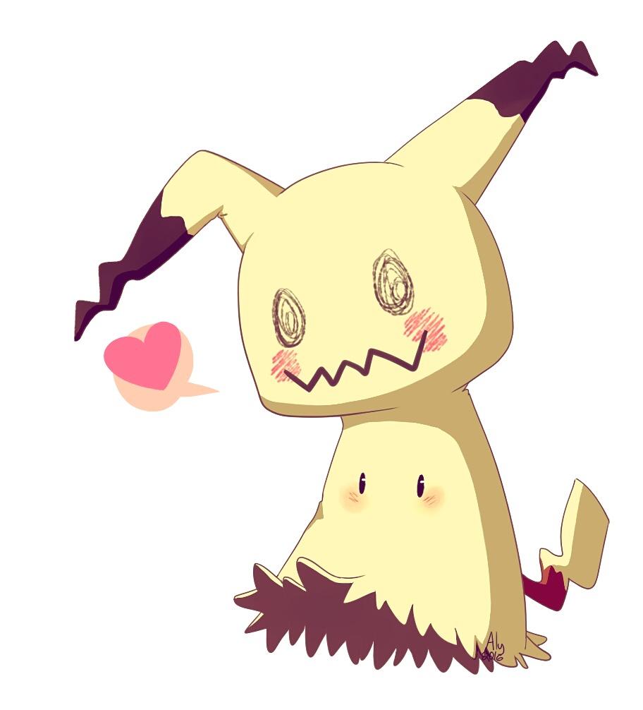 Pokemon - Mimikkyu by AngieYellowCat