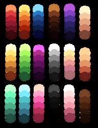 palettes by Kuntser