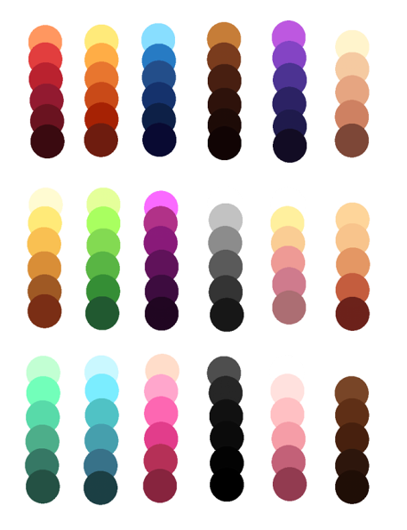 How To Make A Palette In Paint Net